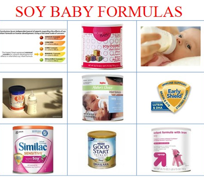 In The U K Isreal France And New Zealand They Have Severely Restricted Or Banned Use Of Soy Formula For Babies Because Mounting Research On