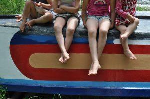 boat legs