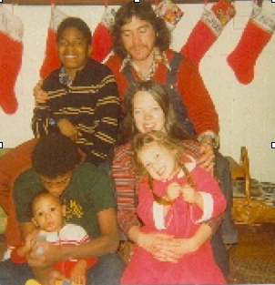 diverse family christmas