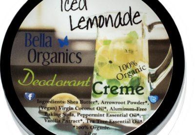 Bella Organics deodorant