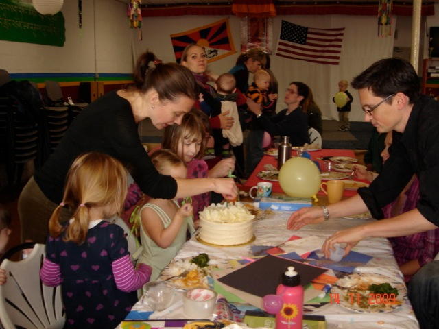 A super-sized birthday party with a cause