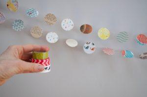 paper garland making 3