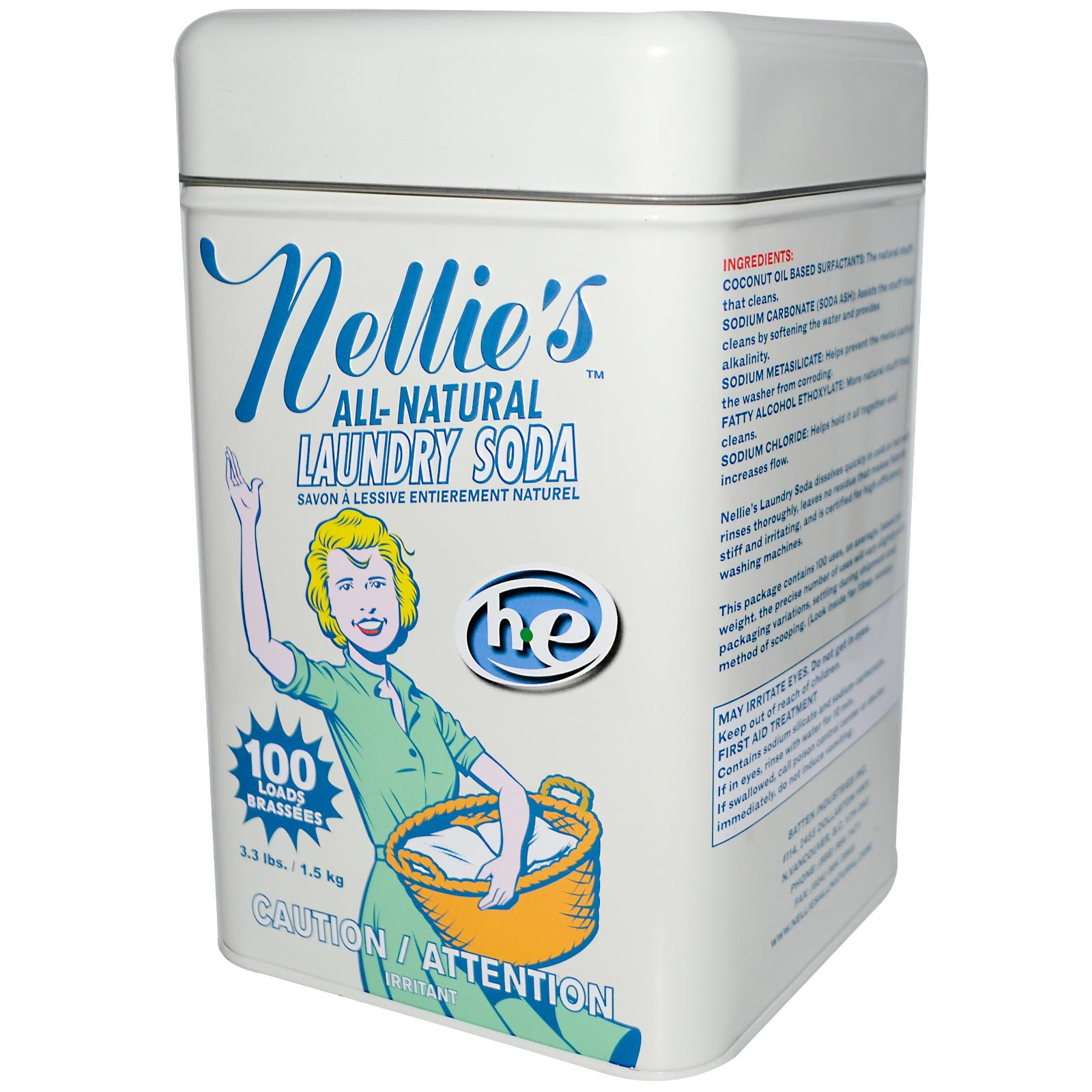Nellie S All Natural Laundry Soda The Green Mamathe