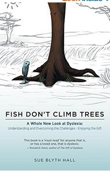 Book jacket of Fish Don't Climb Trees
